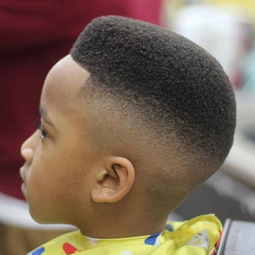 High Skin Fade with High Top