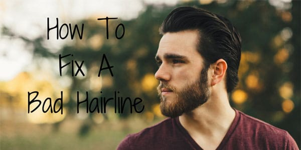 How To Fix A Bad Hairline Growing Your Hairline Back Men S
