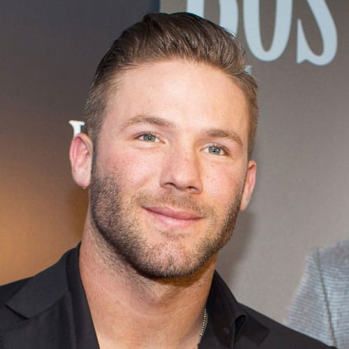 Julian Edelman Hair - Comb Over with Beard