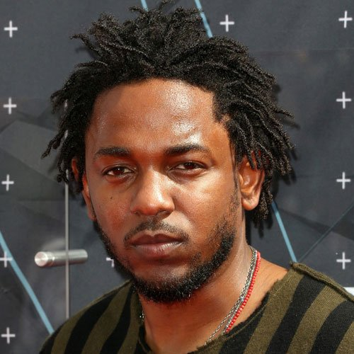Kendrick Lamar Hair Styles - Medium-Length Locs