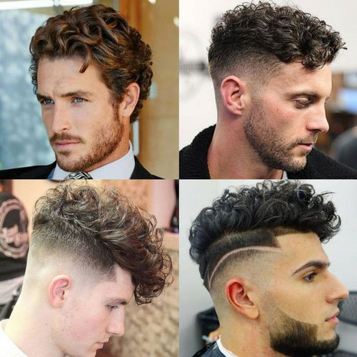 Good Haircuts For Curly Hair Guys The Best Hairstyles Men Haircut