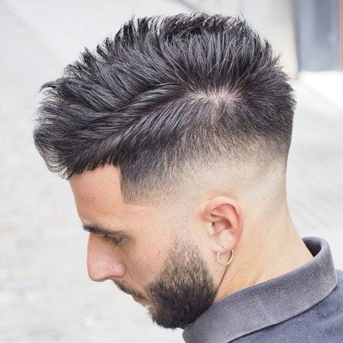Mens Hairstyles With Beard Along Korean Style Hair 2017