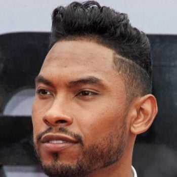 Miguel Haircut - Low Fade + Curly Pompadour