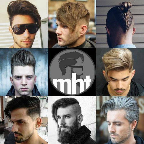 Popular Men's Haircuts For Long Hair