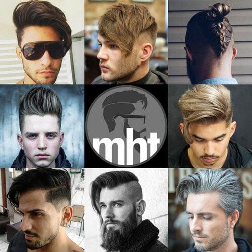 Popular Men's Haircuts For Long Hair