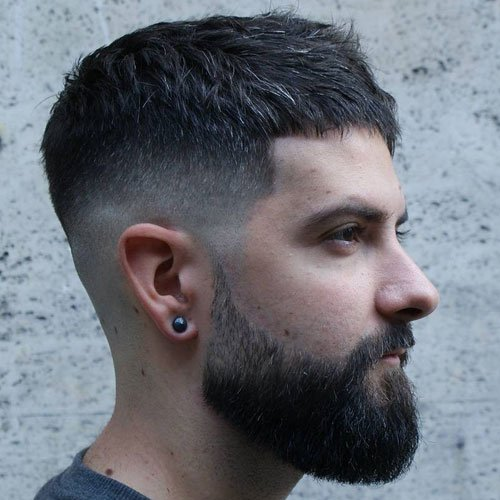 Short Hair with Long Beard Styles