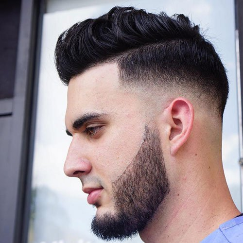 Skin Fade + Line Up + Comb Over
