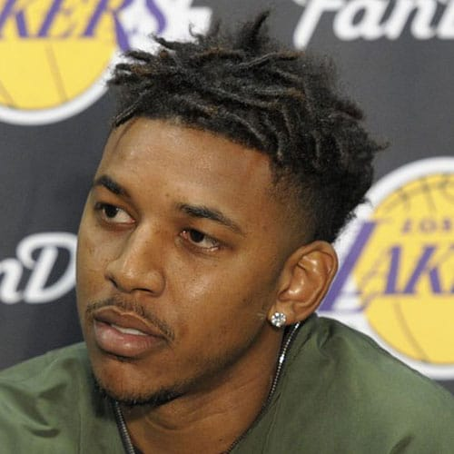 Nick Young Haircut Swaggy P Hairstyle Men S Hairstyles