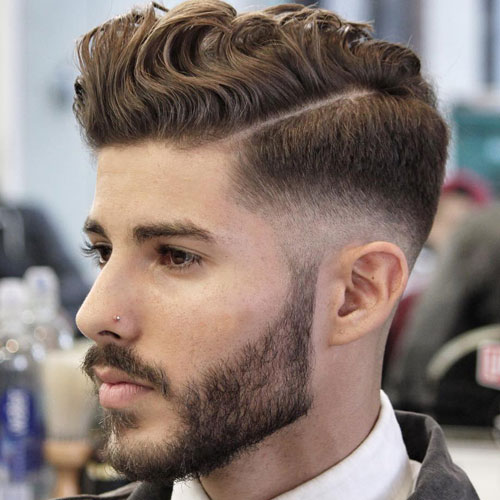 Top Men S Hair Trends 2018