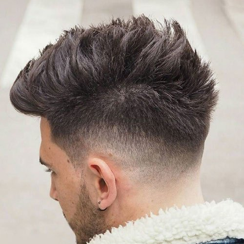 Wide Mohawk + Spiked Hair