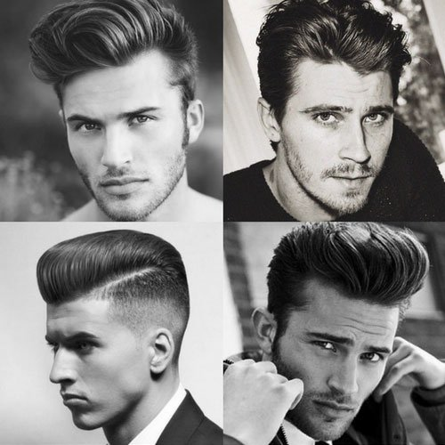 Men Hair Tonic 1950s: Men's Hairstyles + Haircuts 2019