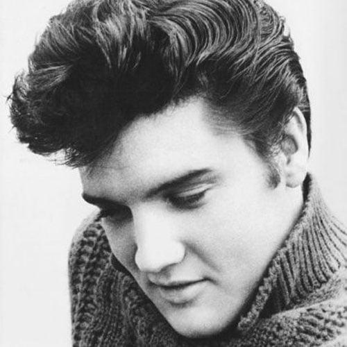 50s Elvis Presley Messy Quiff