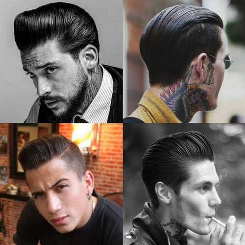 Greaser Hairstyles For Men | Men's Hairstyles + Haircuts 2017 - photo#20