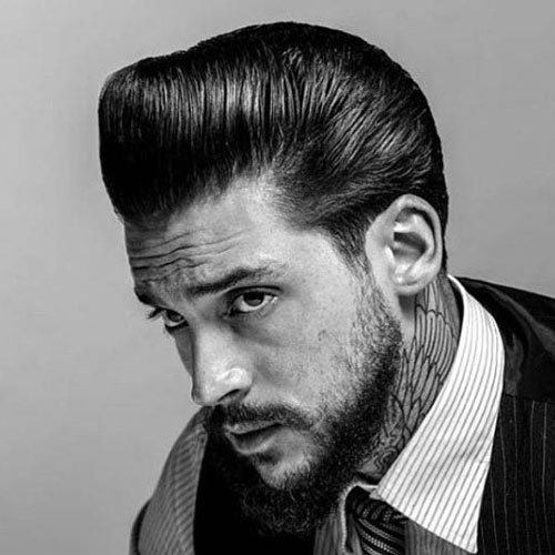 Greaser Hairstyles For Men | Men's Hairstyles + Haircuts 2017 - photo#25