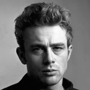 James Dean Haircut - Messy Quiff