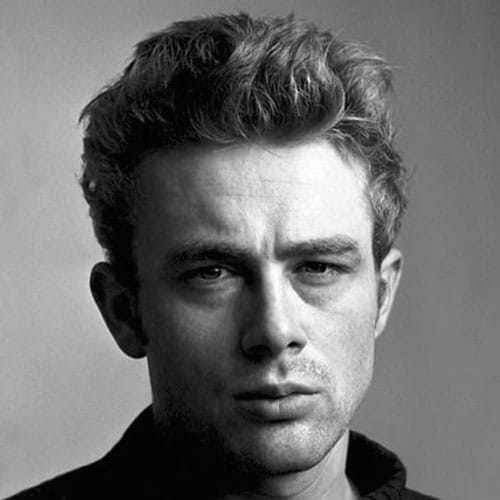 James Dean Haircut   Messy Quiff