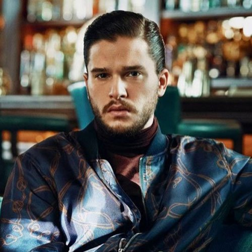 Kit Harington Short Hair - Comb Over with Hard Part