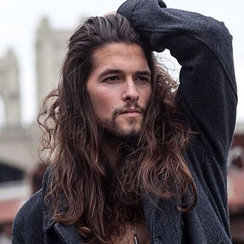 Long Hair + Beard