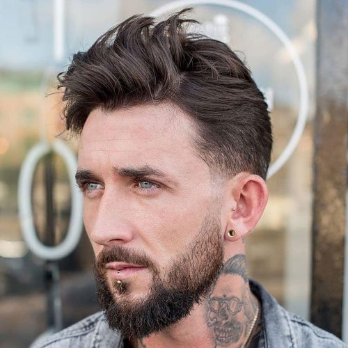 Low Fade Haircut Men S Hairstyles Haircuts 2017