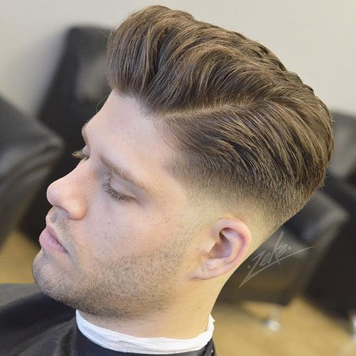 Comb Over Fade Haircut For Men – 40 Masculine Hairstyles