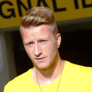 Marco Reus Hairstyle - Undercut with Comb Over