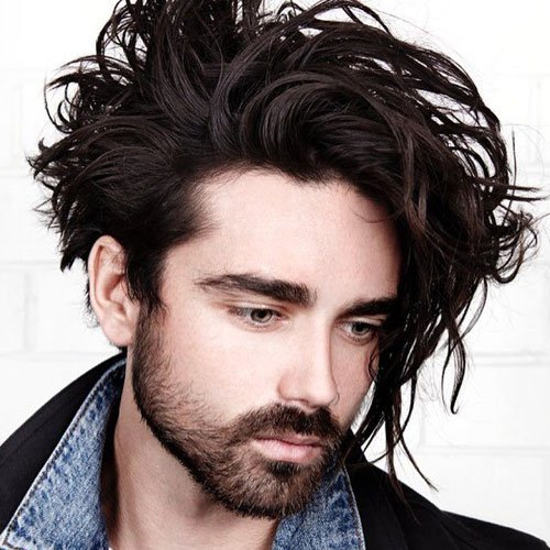 Hairstyles For Men With Curly Hair Long 52