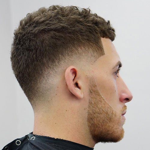 Taper Fade Haircut For Boys