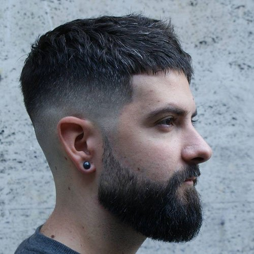 Mid Fade Haircut Men S Hairstyles Haircuts 2017