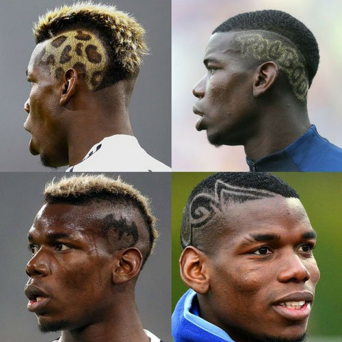 Paul Pogba Haircut Men S Hairstyles Haircuts 2017
