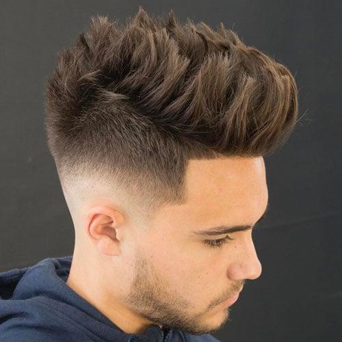 Mid Fade Haircut Men S Hairstyles Haircuts 2017