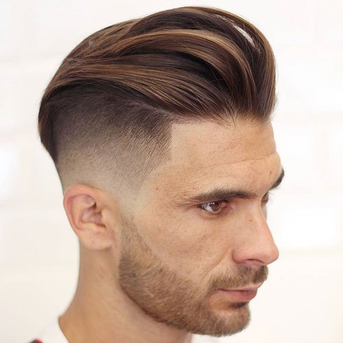 Brushed Back Hairstyles Men: 30 Best Haircuts For Men (2019 Guide
