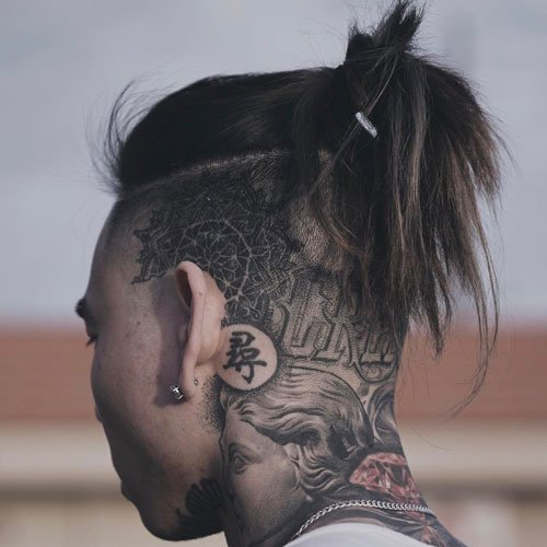 Undercut with Ponytail