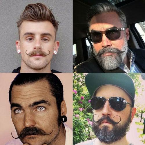 Best Handlebar Mustache Styles