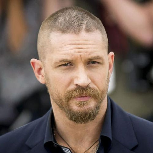 Tom Hardy Beard | Men's Hairstyles + Haircuts 2017