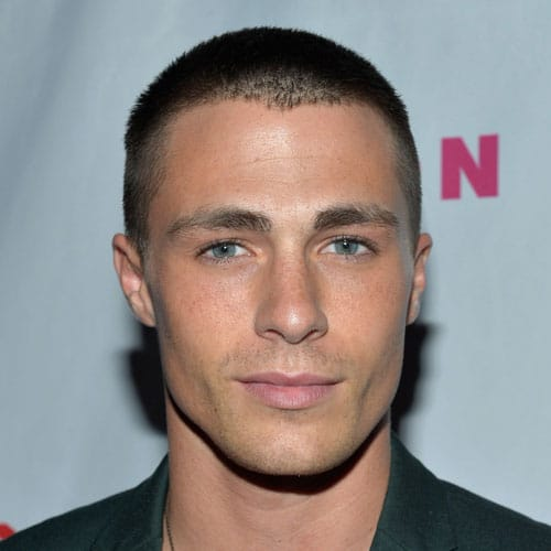 Colton Haynes Haircut