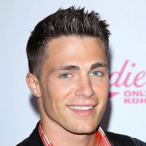 Colton Haynes - Thick Spiky Hair