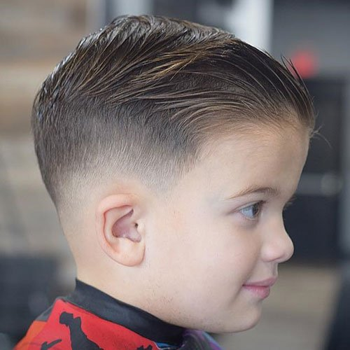30 Cool Haircuts For Boys 2018