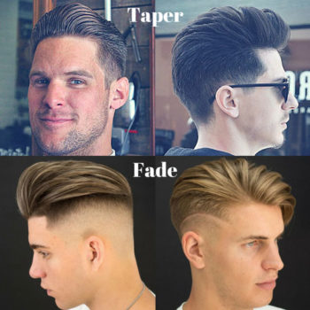 Difference Between Taper and Fade