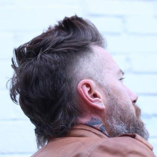 Fohawk Mullet Hairstyle