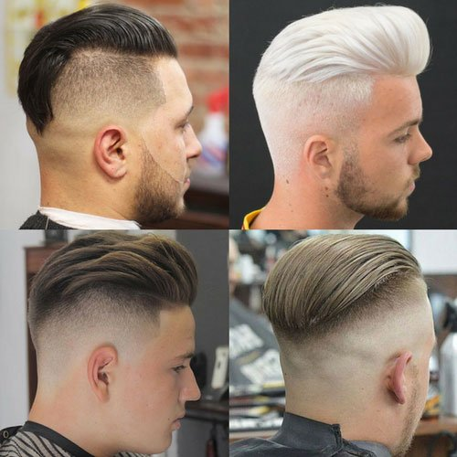 Taper Fade Haircut  Types of Fades 2018  Mens