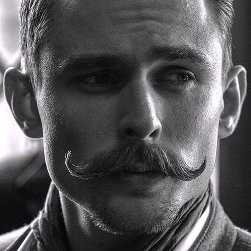 Handlebar Mustache + Goatee