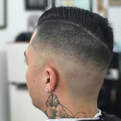 High Skin Undercut Fade + Comb Over