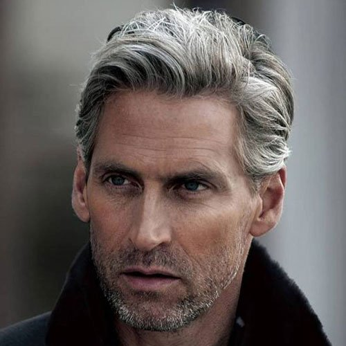 Silver And Grey Hair For Men Men S Hairstyles Haircuts