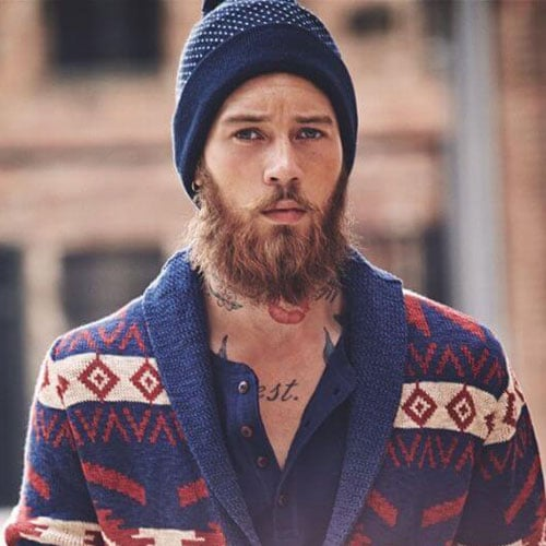 Long, Full Hipster Beard