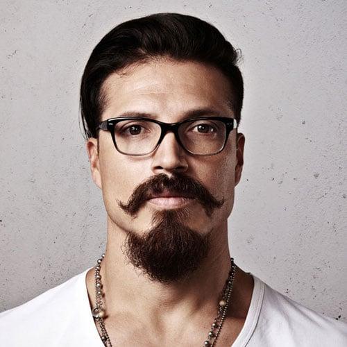 Long Goatee + Mexican Mustache