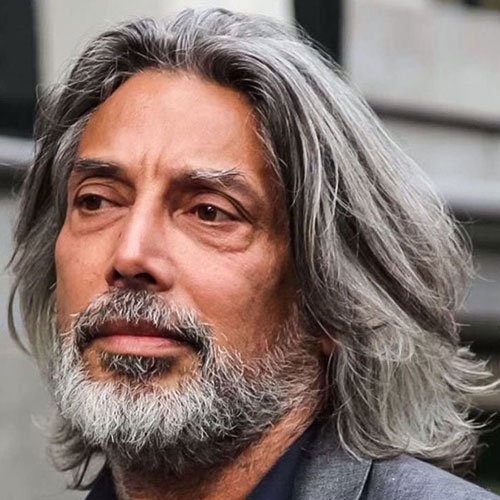 21 Best Men S Hairstyles For Silver And Grey Hair Men 2019 Guide