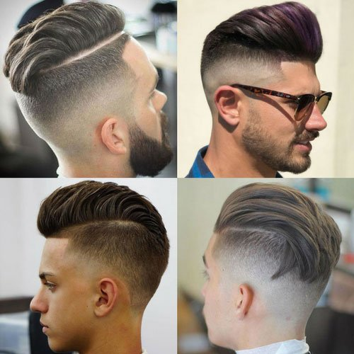 Undercut Fade Men S Hairstyles Haircuts 2017