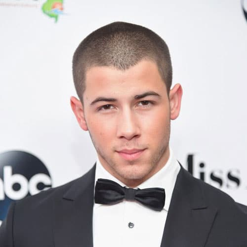 Nick Jonas Short Hair - Buzz Cut
