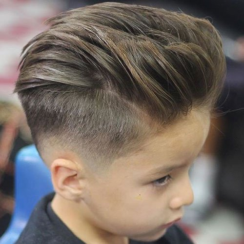 Quiff With Low Fade