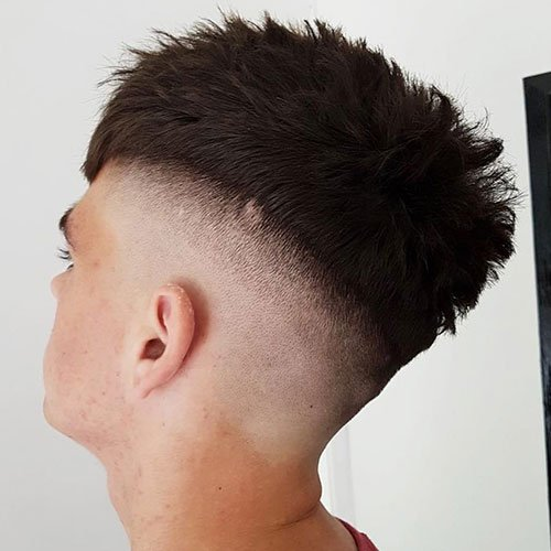 Shaved Sides + Long Top